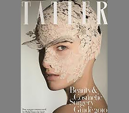 Dr Mike Comins featured in Tatler