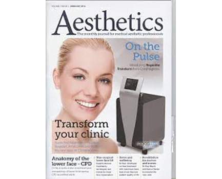 Dr Mike Comins joins Aesthetic Journal