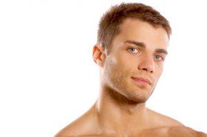 Cheek enhancement for men